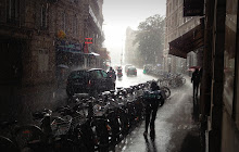September rainstorm in the 9eme