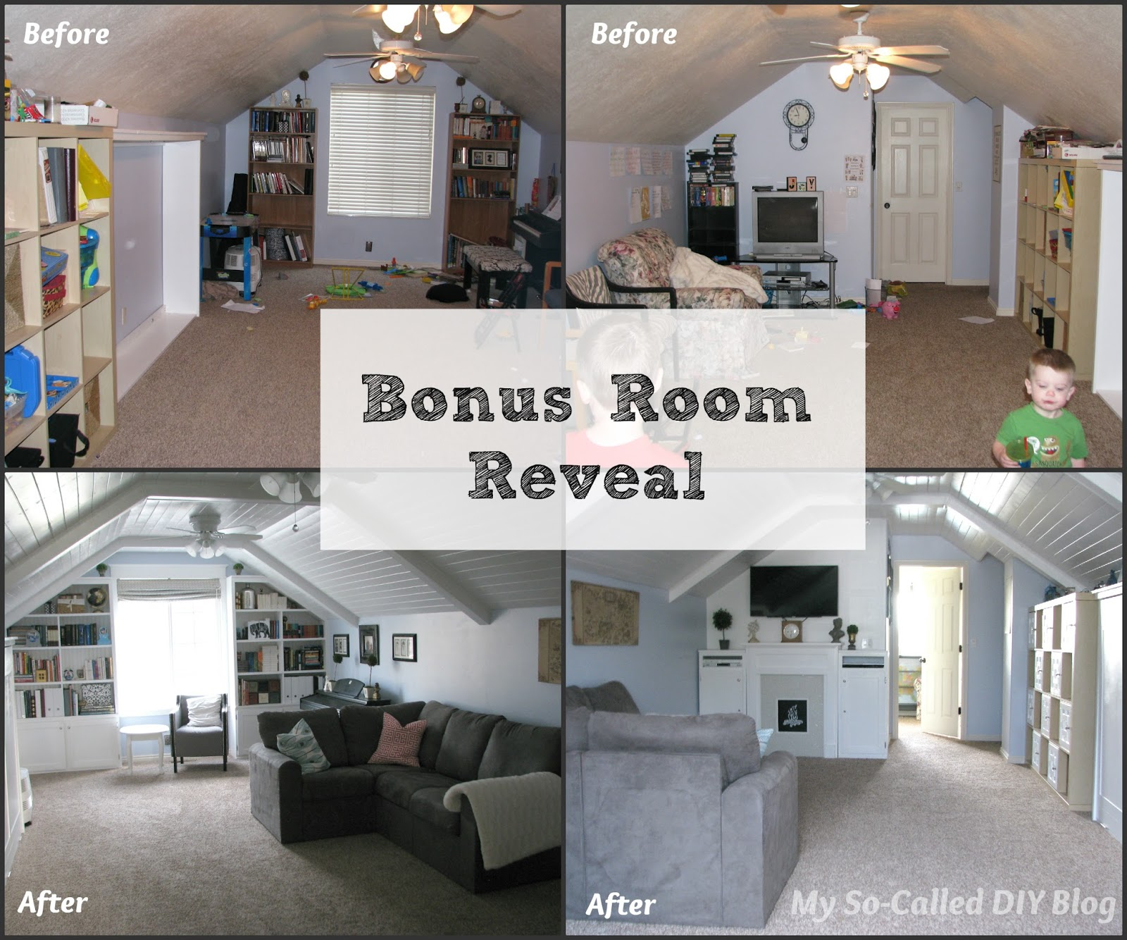 my so called diy blog bonus room reveal bonus room over garage ideas