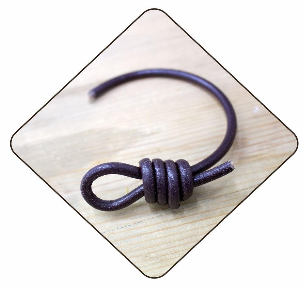 hemos utilizado un cuero de mm para practicar las primeras veces utilizar cuero con este mismo grosor o un poco ms fino no se resbala