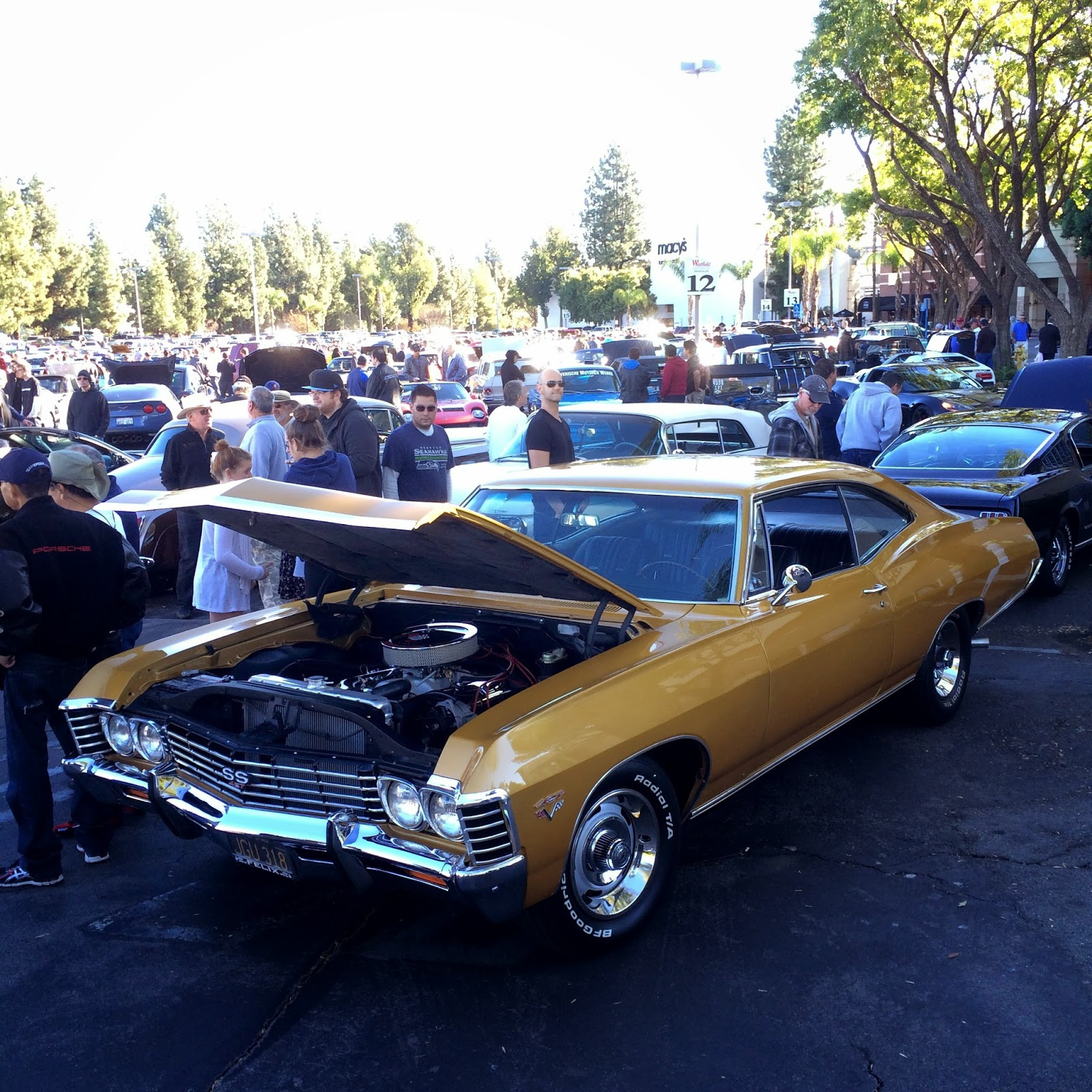 Covering Classic Cars Supercar Sunday Dia De Los Muertos Car - Classic car show california