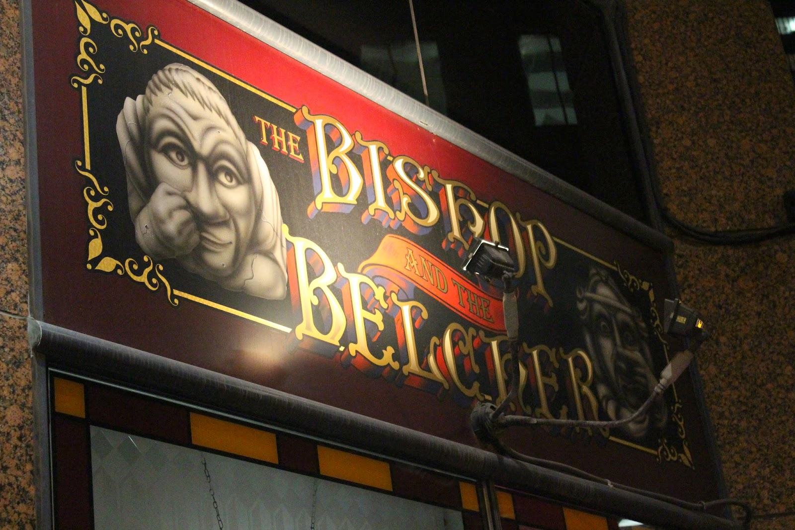 The Bishop & The Belcher: Un pub irlandais à visiter!