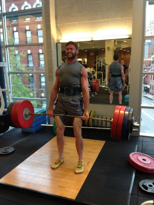 hugh jackman weight lift