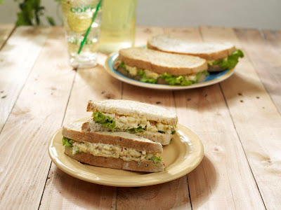 Starbucks Creamy Egg Salad on Whole Wheat Granny Loaf