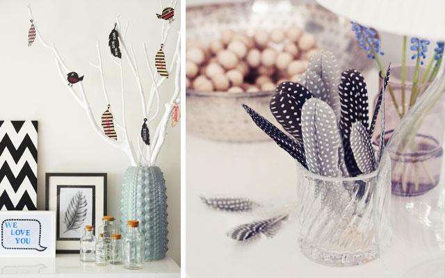 Decorar con plumas protecci n y luz mi casa es feng - Plumas para decorar ...