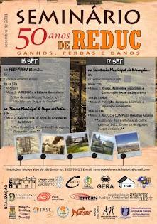 Cartaz do Seminário 50 anos de Reduc