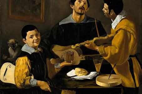 Tre musicisti Dipinto di Diego Velázquez