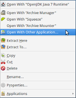 "Rick Click and pick ""Open With Other Application..."""
