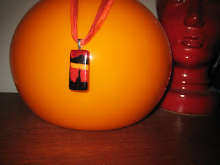 Fused Glass Pendant from Current Works of Glass