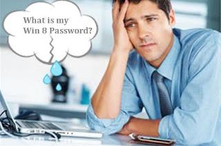 forgot windows 8 password