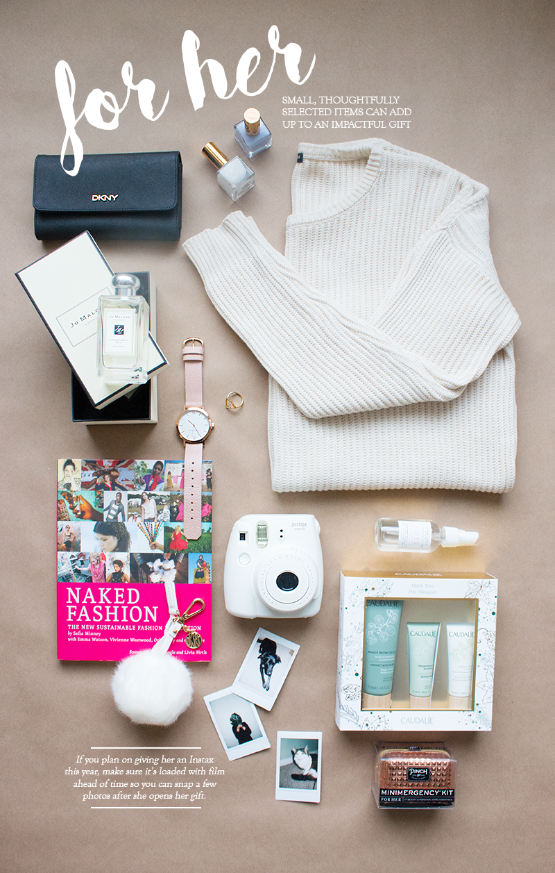 Holiday gift ideas for her via Adventures in Fashion