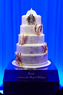 Escada Royal Wedding cake, Harrods Wedding Cake Designer Windows