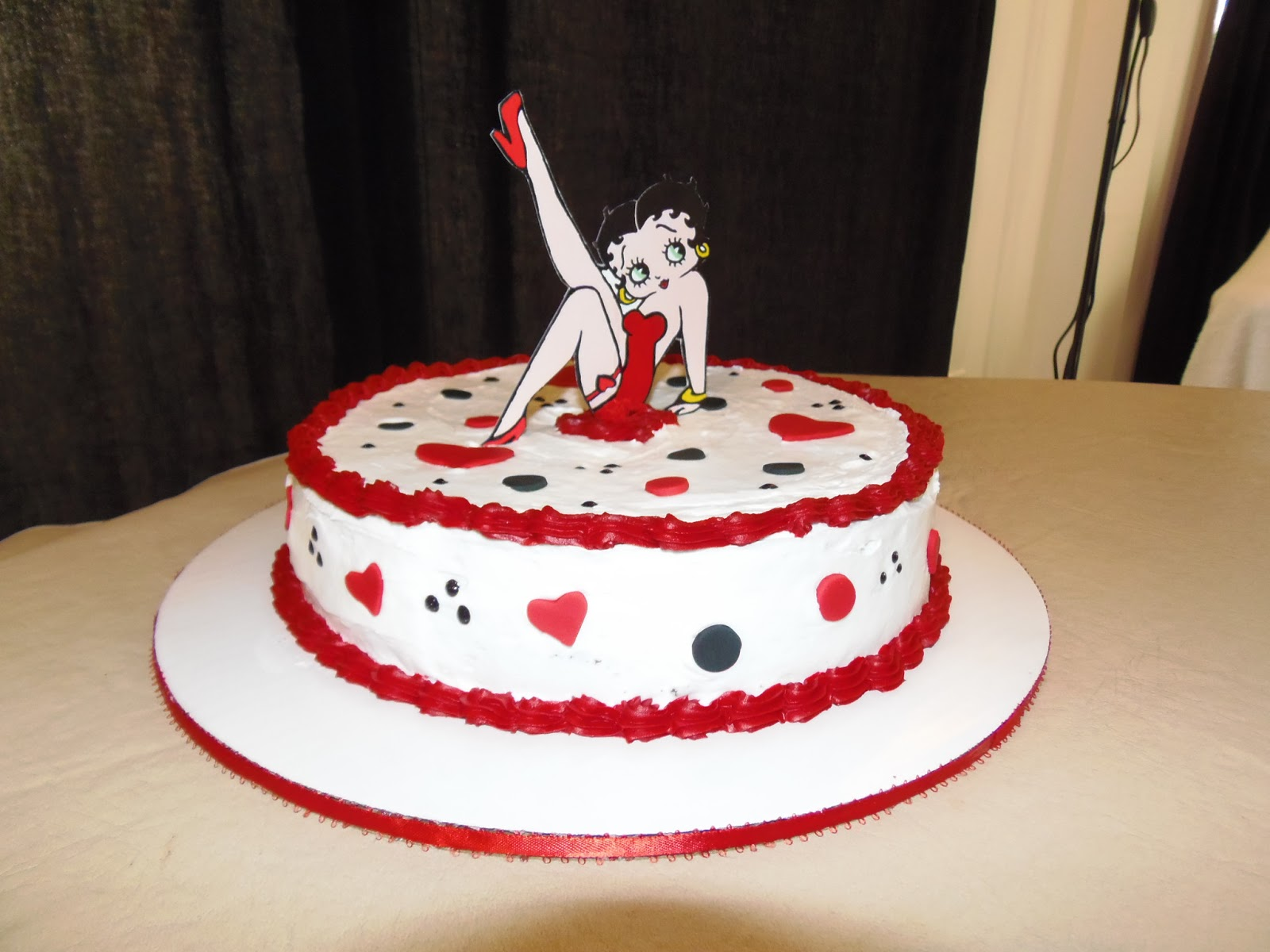 Dreams Factory Betty Boop Cake