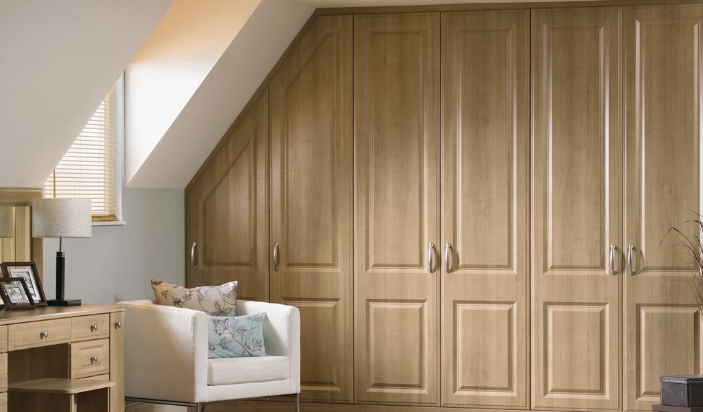 Fitted wardrobe bedroom designs