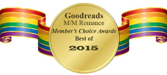 Slaying Isidore's Dragons Receives 8 Nominations in the Goodreads MM Romance Members' Choice Awards