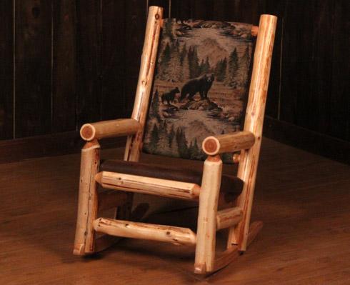 rocky top log furniture railing blog rustic baby. Black Bedroom Furniture Sets. Home Design Ideas