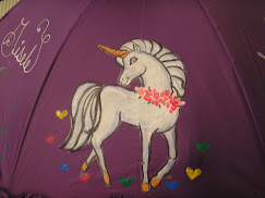 unicorn in purple