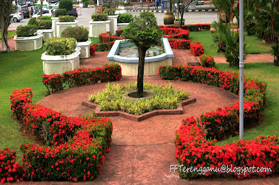 Pokok berbunga merah