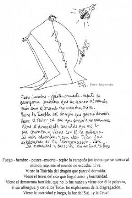 dibujo de la profecia 1972 en los juegos olimpiadas 2012