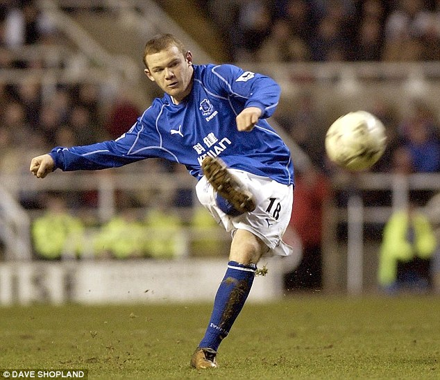 Wayne Rooney 16 Years Old An Evolution of the Player the Man