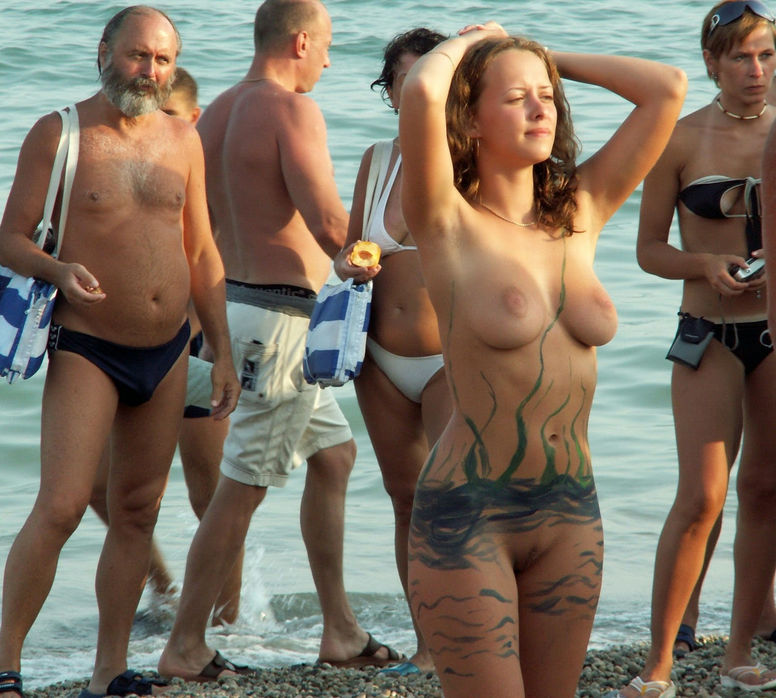 koktebel nudist beach Nude beach - beautiful girls Koktebel (RUS)
