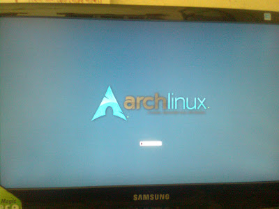 FB Splash Loading Screen in Arch Linux