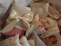 Moji jastučići punjeni lavandom / My lavender cushions and bags