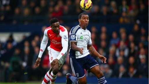 Mantan Pemain MU Cetak Gol Untuk Arsenal Melawan WBA