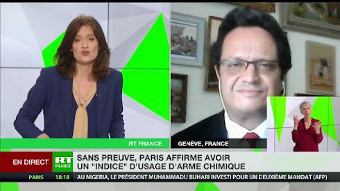 Riadh Sidaoui : qui utilisent les armes chimiques en Syrie?