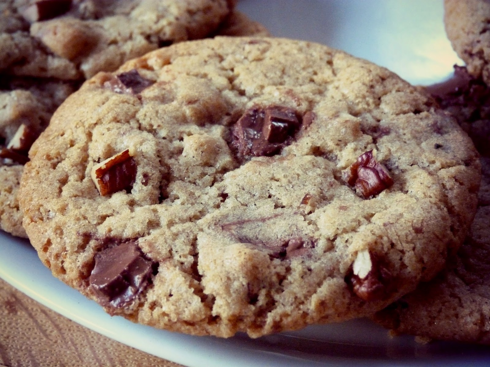 ma pignatta cookies chocolat au lait et noix de p can. Black Bedroom Furniture Sets. Home Design Ideas