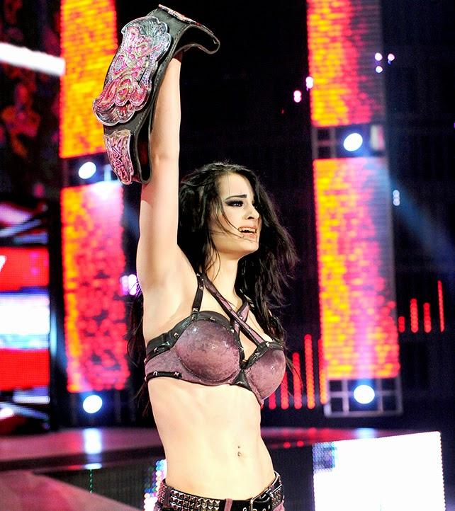 AJ, Paige, WWE Raw, WWE Monday Night Raw