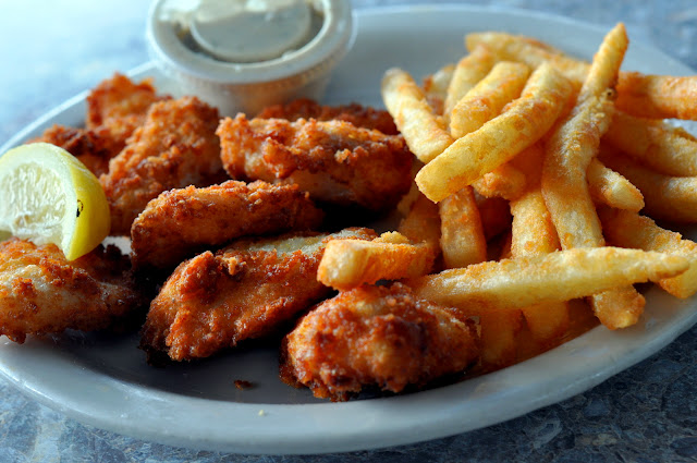 Grouper Cheeks - Rod & Reel Pier Restaurant - Anna Maria, FL   Taste As You Go