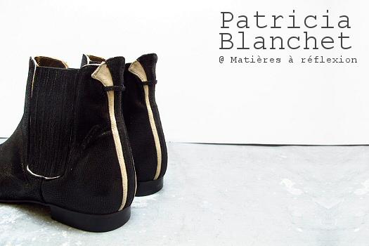 Bottines noir Ecsta Patricia Blanchet