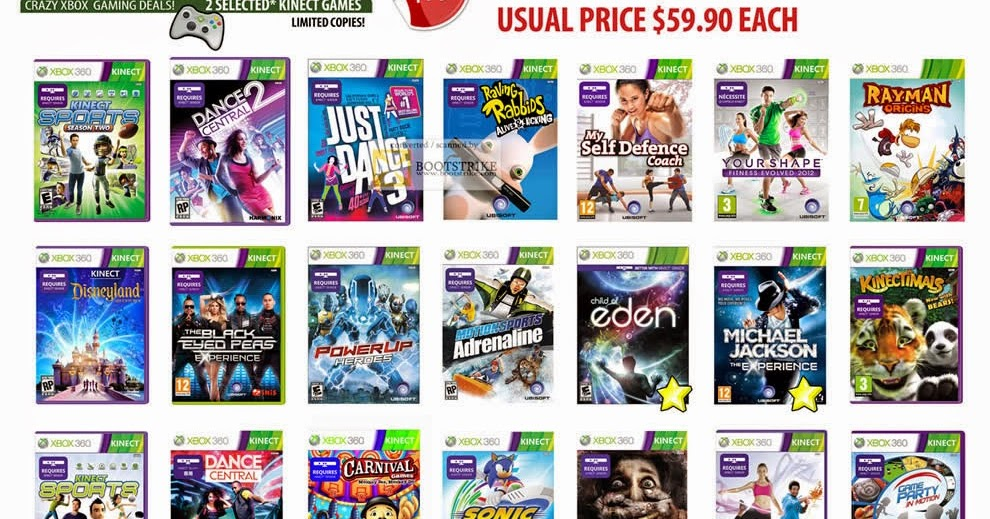 kinect xbox one games