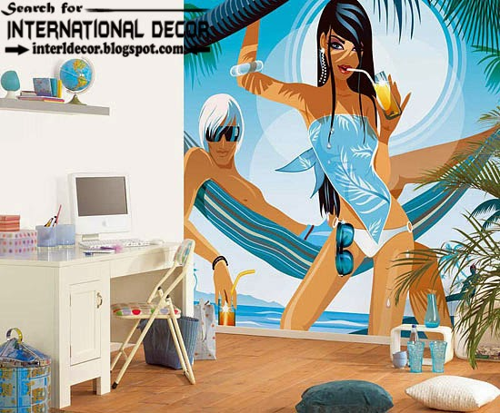 Cool Wall Murals For Girls Room Wallpaper, Wall Covering Ideas, Wall Mural