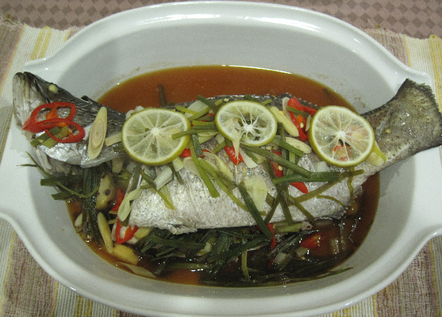 to love thai style sweet and sour steamed fish thai style steamed fish ...