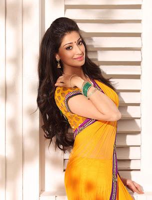 Lakshmi rai latest yellow saree awesome photos no …