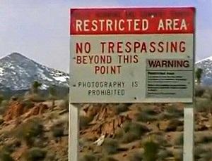 area 51 prohibido el paso