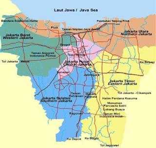 Contoh Peta, peta