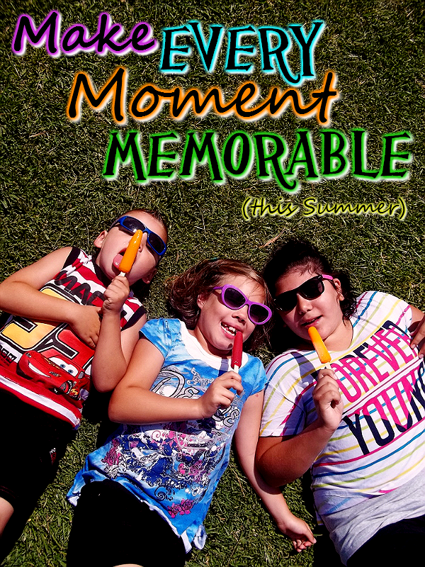 Make Every Moment Memorable this Summer with simple boredom busting tips and #SummerGoodies like real fruit juice Outshine Bars! #Shop