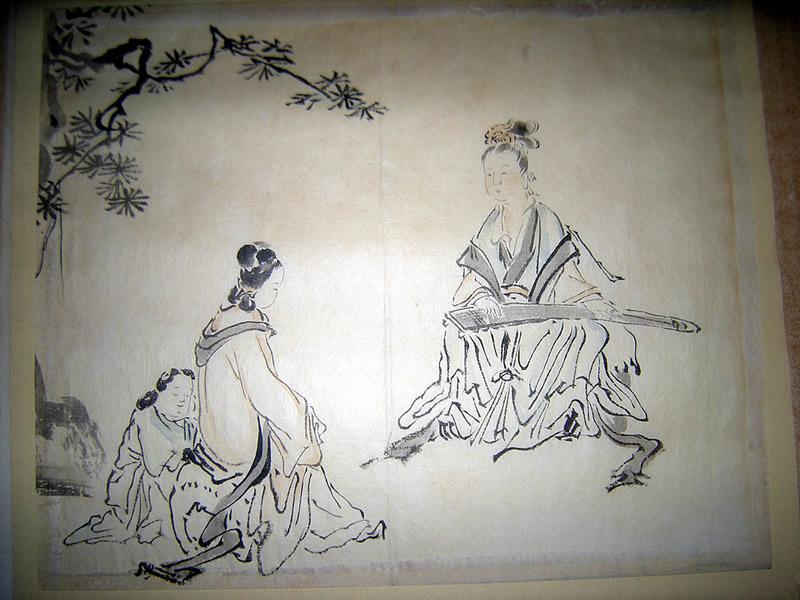 Unidentified Azuchi-Momoyama Period Japanese Kano School Painting