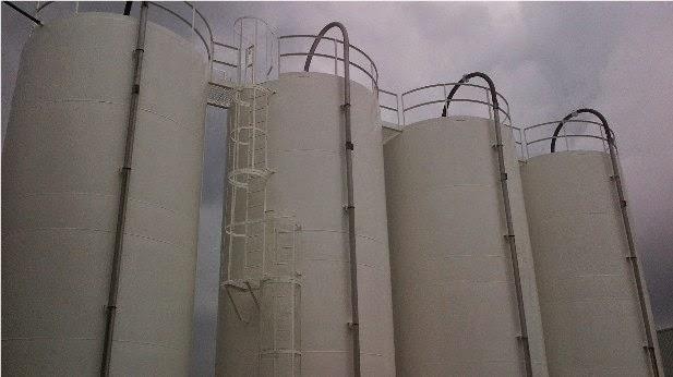 Aislante térmico silos