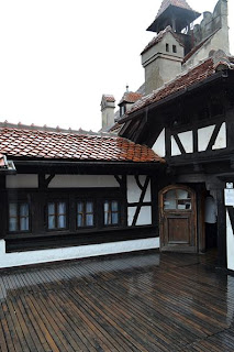 Photos from inside the Castle Bran (Brasov, Transylvania), Terrace