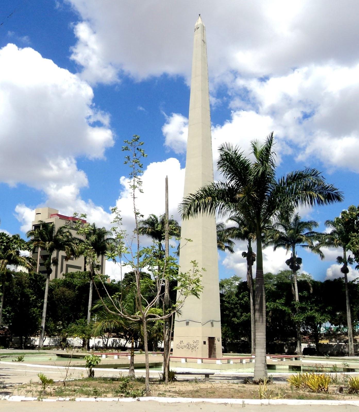 Resultado de imagem para obelisco do acude velho em campina grande