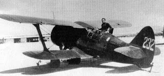 Battles of Khalkhin Gol - Polikarpov I-15
