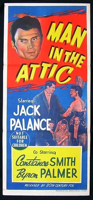 Man In The Attic Starring Jack Palance and Constance Smith