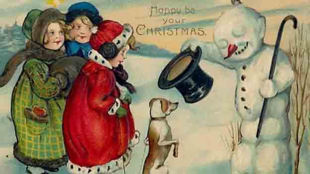 navidad victoriano