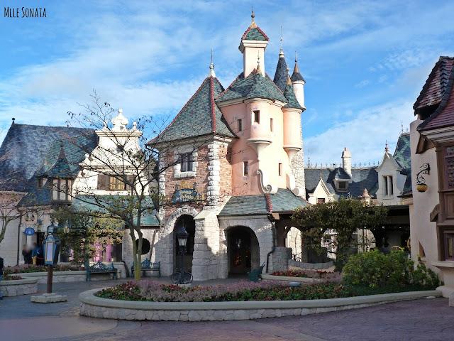 Maison de Cendrillon à Disneyland Paris.