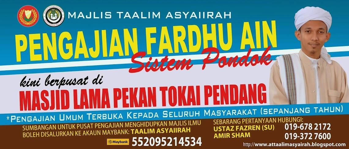 Pengajian Pondok - Taalim Asyairah Kedah