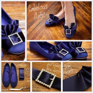صور طريقة تزين احذية قديمة 603419_2419521092585