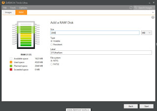 DAEMON Tools Ultra 4 Ram Disk